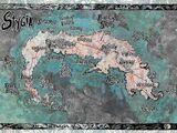 Stygia Map Poster