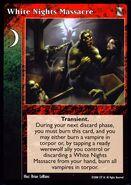 White Nights Massacre VTES card