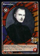 Marconius vtes card