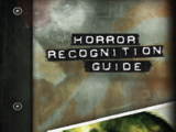 Horror Recognition Guide