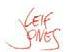 Leif Jones signature