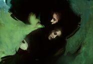 Lucita and Maria Sandoza