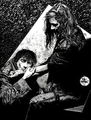 Vampire art by Tim Bradstreet