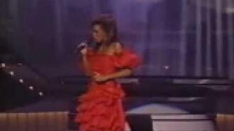 Whitney Houston-Saving All My Love For You Grammys 1986