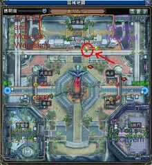 Seven Heroes Around the World 3 Map