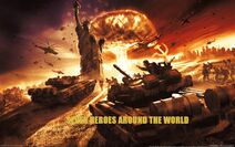 Seven Heroes Around the World Official Poster