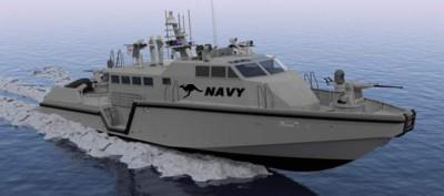 85-foot-long Mark VI patrol boat