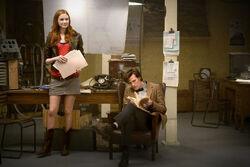 Doktor i Amy Pond