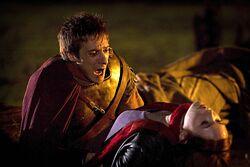 Rory i postrzelona Amelia