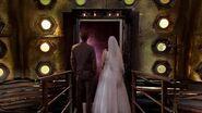 Doktor i Donna patrzą na kosmos (Uciekająca panna młoda)