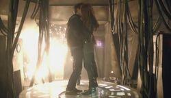 Amy i Rory pocałunek