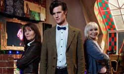 Doktor z Sarą Jane Smith i Jo Grant