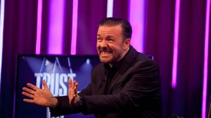 Whose Line?- Ricky Gervais on Trust Us With Your Life