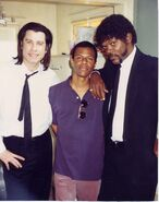 Whose Line?- Phil LaMarr on the set of Pulp Fiction