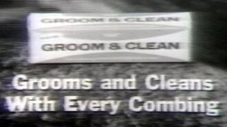 Commercial - Groom & Clean Hair Dressing - Grooms and cleans with every combing!