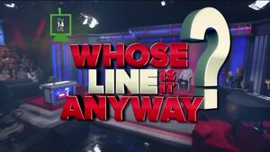 Whose Line Main Page