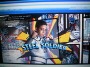 Steel Soldier's Action Pose