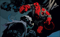 Morph and Hellboy