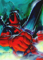 Deadpool trading card