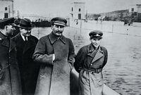 Clark Lenin with Stalin