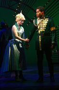 Derrick Williams as Fiyero