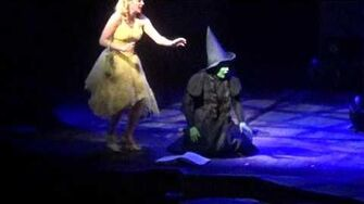 Wicked Broadway Defying Gravity Christine Dwyer Jenni Barber Video-0