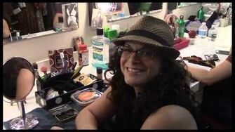 "Fly Girl Backstage at ""Wicked"" with Lindsay Mendez, Episode 5 Citizens of Oz & NessaProblems-3"