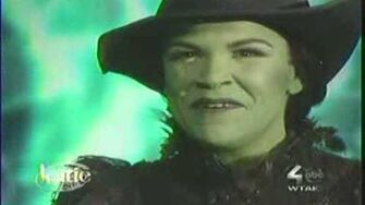 Wicked- For Good on The Katie Couric Show