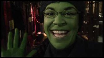 "Fly Girl Backstage at ""Wicked"" with Lindsay Mendez, Episode 7 Bryant Park Fun-2"