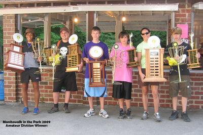 Trophy winners 2009