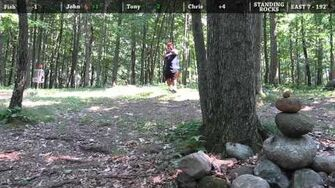 Standing Rocks Disc Golf - Full Round