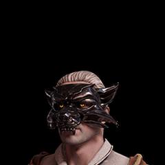 Skórka Geralta w masce wilka
