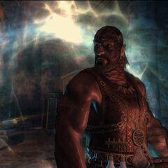 Azar Javed w Kaer Morhen - kadr z prologu w grze