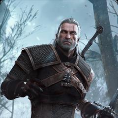 Karta Geralta w grze <a href=