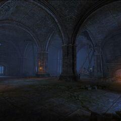 Wnętrze Kaer Morhen