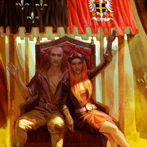 Adda i Radowid V, sojusz