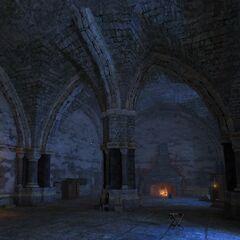 Kaer Morhen - pokój wieczorny
