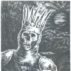Widmo króla Dzikiego Gonu na ilustracji w czeskim wydaniu <a href=