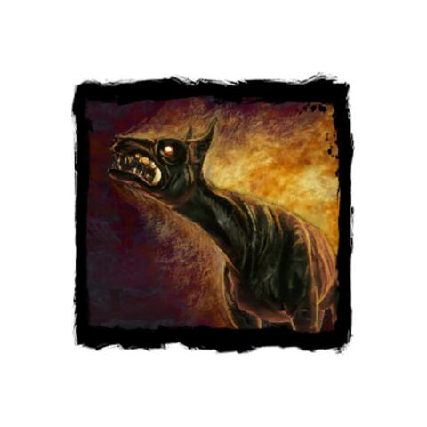 Upiorny Pies w dzienniku gry Wiedźmin