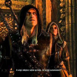 Geralt w rynsztunku Bratobójcy