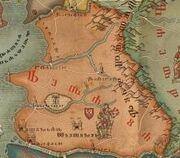 W2 SS Redania mapa