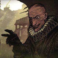 Shilard w animacji z Wiedźmina 2