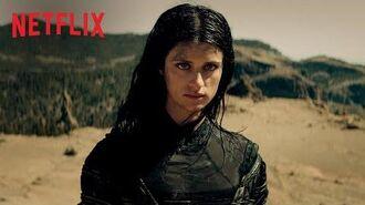 Wiedźmin Prezentacja postaci Yennefer z Vengerbergu Netflix