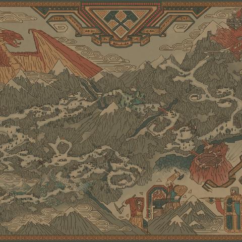 Mapa Mahakamu w <a href=