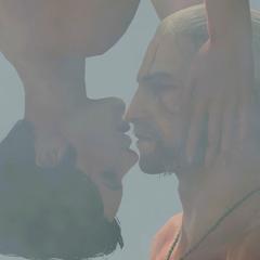 Scena miłosna Syanny i Geralta