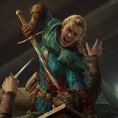 Meve z mieczem paradnym