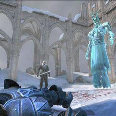 Król Gonu w Epilogu gry Wiedźmin