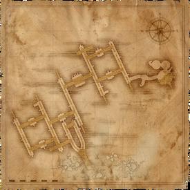 W1 SS Kanały wyzimskie mapa