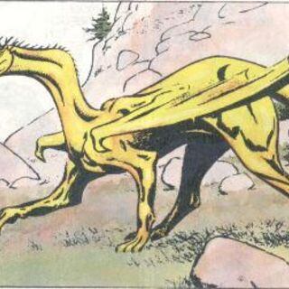 Wizerunek Villentretenmertha z komiksu.
