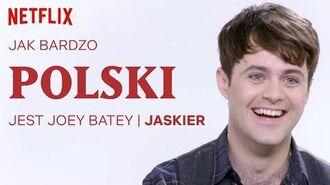 Jak bardzo polski jest Joey Batey Wiedźmin Netflix
